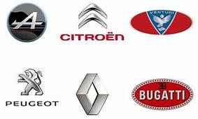 French Car Brands – List & Logos Of Companies In France