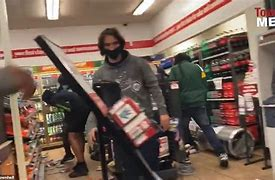 Image result for BLM rioters stealing