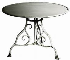 table ronde metal table de jardin ronde en m 233 tal fer forg 233 arras