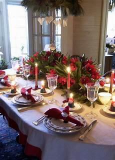 weihnachtstisch festlich dekorieren 40 table decoration ideas
