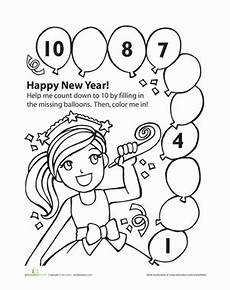 new year math worksheets 19361 new year s countdown worksheet education
