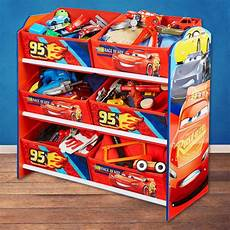 Cars Kinderzimmer Möbel - disney cars kinderregal regal aufbewahrungsregal kiste