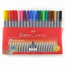 Faber Castell Malvorlagen Ebay Faber Castell Grip Colour Marker Pens 20 Pen Wallet