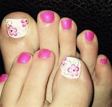 23 flower toe nail designs nail designs design trends