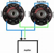 2 ohm subwoofer parallel wiring diagram wiring subwoofers speakers to change ohm s abtec audio lounge