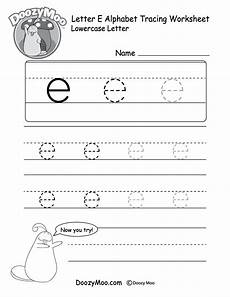 letter e tracing worksheets for preschool 23587 can trace the small letter quot e quot in different sizes in this free printable t lowercase