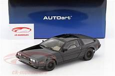 delorean dmc 12 kaufen autoart 1 18 delorean dmc 12 year 1981 black 79917 model