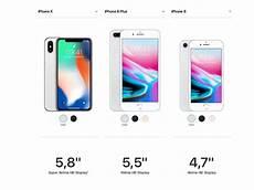 Unterschiede Zwischen Iphone X Iphone 8 Plus Und Iphone 8