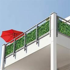 balkon sichtschutz kunst efeu hecke 2193