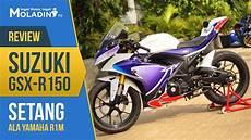 Modifikasi Gsx R150 Jari Jari by Modifikasi Gsx R150 Setang Ala Yamaha R1m