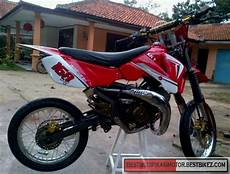 Modifikasi Satria 2 Tak by Modifikasi Suzuki Satria 2 Tak Trail Gambar Modifikasi