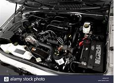 how cars engines work 2001 ford explorer sport trac engine control 2007 ford explorer sport trac xlt in silver engine stock photo 16021594 alamy