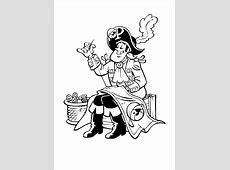 Kleurplaat Piet Piraat (Studio100)   2175