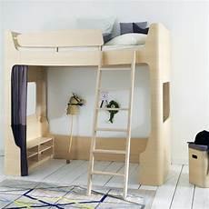 lit mezzanine design lit mezzanine mild naturel mildwild pour chambre enfant les enfants du design
