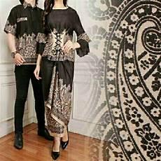 produk viral legionshop batik pasangan couple baju batik couple latifah black