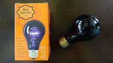 walmart 75watt incandescent black light bulb newer youtube