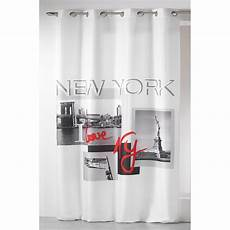 rideau 140x260cm quot i new york quot blanc