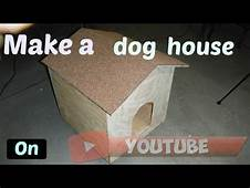 Easy Make Your Own Dog House Project DIY DogHouse