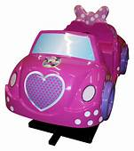 Minnie Mouse Car  Childrens Rides Clearhill