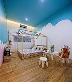 Desain Cat Kamar Tidur Warna Biru Arcadia Design Architect