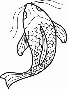 free printable swimming fish coloring page for supplyme