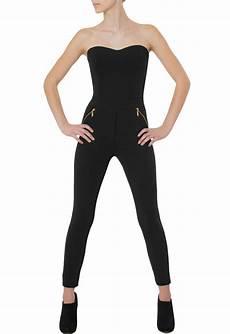 langer jumpsuit caspar damen eleganter langer jumpsuit catsuit one