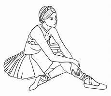 Ausmalbild Conni Ballett Ballett Ballerina Malvorlage