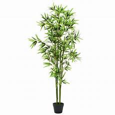 bambus kunstpflanze im topf deko zimmer pflanze k 252 nstlich