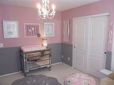 Baby Bedroom Ideas Pink And Grey by These Colors Together But One Wall Pink And The Others
