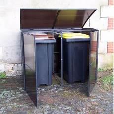 cache poubelle ext 233 rieur abri range poubelle bois