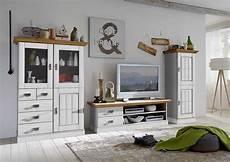 wohnzimmer landhaus tv kombination fjord wei 223 gelaugt