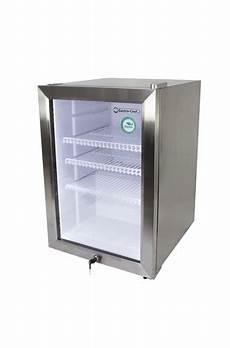 mini kühlschrank mit glastür edelstahl mini k 252 hlschrank mit glast 252 r led