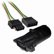 lite battery wire harness 2ft trailer light wiring harness 4 pin flat wire connector 24 quot with adapter walmart