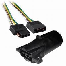flat wire harness pin 2ft trailer light wiring harness 4 pin flat wire connector 24 quot with adapter walmart