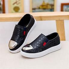 Flat Shoes R 30 2016 children flat shoes gold toe mocasines for