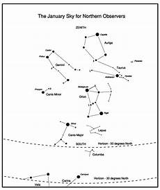 constellation of taurus worksheet the sky january 2009 jodrell bank centre for