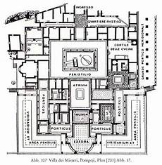 roman villa house plans roman houses and villas