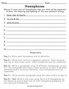 writing sentences with homophones worksheets 22183 homophones sight words reading writing spelling worksheets