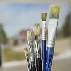 your painting brush hairs and bristles