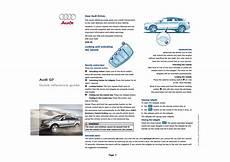 free auto repair manuals 2012 audi q7 electronic throttle control audi q7 user manual 8 pages original mode