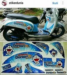 Stiker Motor Beat Fi Keren by Jual Stiker Motor Scoopy Fi Doraemon Di Lapak Joeyjordan