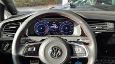 vw golf 7 gti facelift 2017 active info display