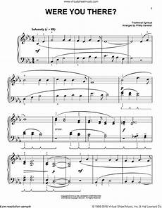 keveren were you there sheet music for piano solo pdf