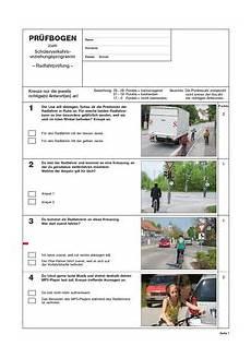 fahrradprüfung 4 klasse fragebogen heinrich vogel shop grundschule verkehrserziehung