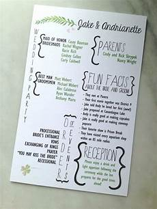 creative wedding programs and what to include creative wedding programs wedding programs