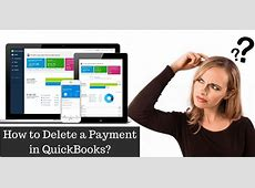 how to delete a deposit from quickbooks