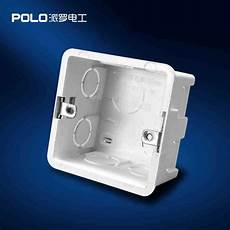 wall mounting box 86 internal cassette wiring box white back box for 86mm 86mm switch wire box