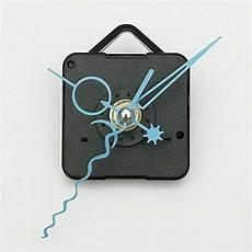 Blue Quartz Black Wall Clock by Blue Diy Quartz Black Wall Clock Spindle Movement
