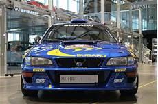 colin mcrae s 1997 subaru impreza wrc is up for sale