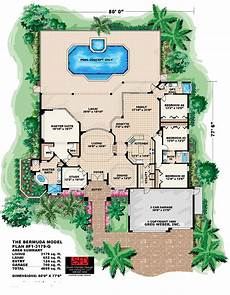 one story tuscan house plans south florida designs tuscan one story house plan south
